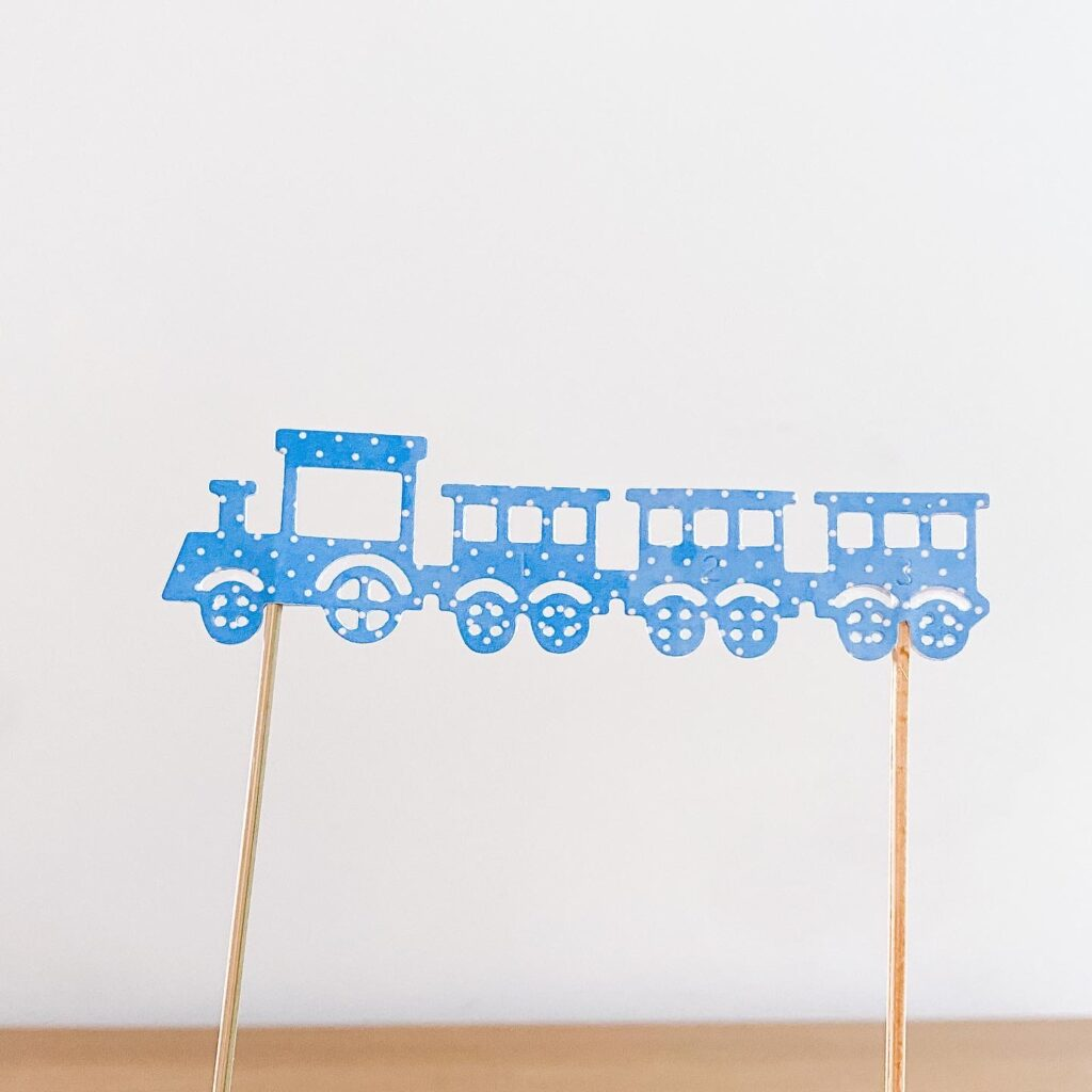 Topper na tort -  pociąg