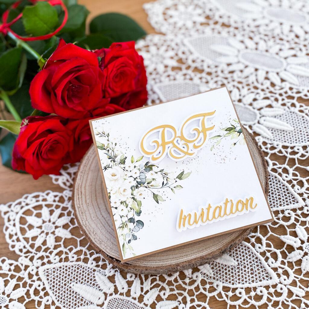 Ręcznie wykonane zaproszenia ślubne